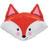 33 inch-es Fabulous Fox - Mosolygós Róka Fej Héliumos Fólia Lufi
