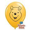 5 inch-es Micimackó Arc - Pooh Face Goldenrod Lufi (100 db/csomag)