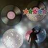 Disco Dekorációs Szett - 4 db-os