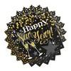 Glittering Happy New Year Szalvéta Szilveszterre - 33 x 33 cm, 16 db-os