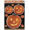 Világító Tök Mintás Halloween Parti Ablakdekoráció