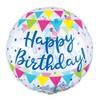 Happy Birthday Konfettivel Töltött Szülinapi Lufi