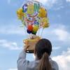 Hőlégballon Ballagási Ajándék Kompozíció Macival