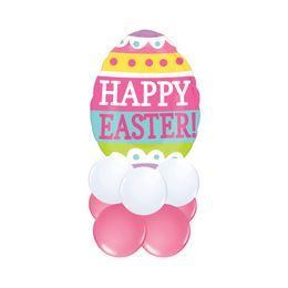 Húsvéti Hímes Tojás - asztali lufidísz