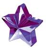 Lila Csillag Léggömbsúly - 170 gramm