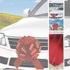 Nagy Piros Ajándék Masni Autóra