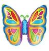 Pillangó - Bright Butterfly Mini Shape Fólia Lufi Pálcán