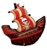 40 inch-es Kalózhajó - Pirate Ship Héliumos Fólia Lufi