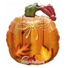 26 inch-es Harvest Pumpkin - Tök Formájú Héliumos Fólia Lufi Halloweenre
