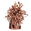 Rosegold - Rózsaarany Bojtos Fólia Léggömbsúly - 170 gramm