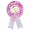 Rózsaszín Szalagos A legjobb Anya Kitűző