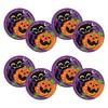 Tök és Fekete Macska Mintás Parti Tányér Halloween-re