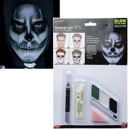 Csontváz Make-Up Szett - Sötétben Világító