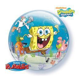 22 inch-es Disney Bubbles Spongebob & Friends - Spongyabob Héliumos Lufi