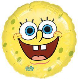 17 inch-es Spongebob Smiles - Spongyabob Kockanadrág Héliumos Fólia Lufi