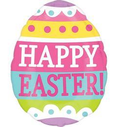 Springy Easter Egg Junior Shape Fólia Lufi Húsvétra