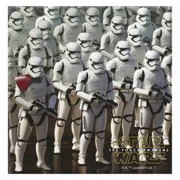 Star Wars - Az Ébredő Erő Parti Szalvéta - 33 cm x 33 cm, 20 db-os