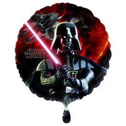 Star Wars - Darth Vader Héliumos Fólia Lufi, 46 cm