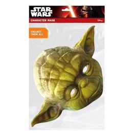 Yoda Star Wars Kartonpapír Maszk