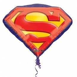 Superman Jel Super Shape Héliumos Fólia Lufi