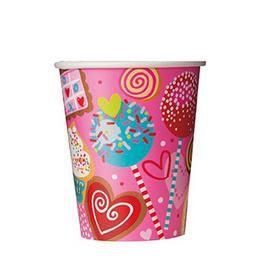 Sweet Valentine Parti Pohár - 270 ml, 8 db-os