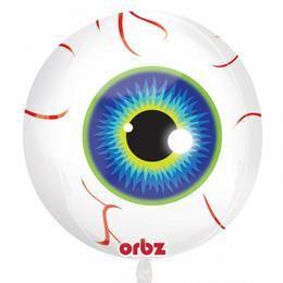 Eyeball - Szemgolyó Ultra Shape Orbz Héliumos Fólia Lufi