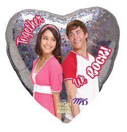 18 inch-es High School Musical I Love Szerelmes Héliumos Fólia Lufi
