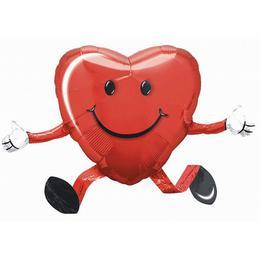 Happy Hugs Sétáló Szerelmes Héliumos Fólia Lufi