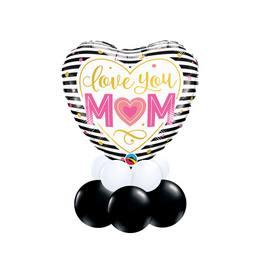 Szeretlek Anya - Anyáknapi asztaldísz
