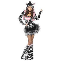Szexi Női Zebra Jelmez - Xs-es