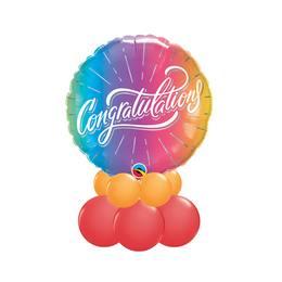 Színes Gratula - Ballagási asztaldísz