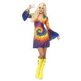 Színes Hippi Női Jelmez, M-es