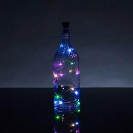 Borosüvegbe Való Színes LED-es Fényfüzér