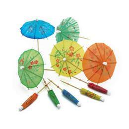 Színes Mini Koktél Esernyő