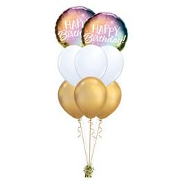 Színpompás Szülinap - Születésnapi Prémium Léggömbcsokor
