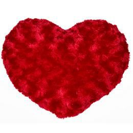 Szív Alakú Piros Párna