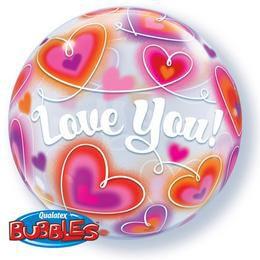 Szerelmes Bubble Lufi