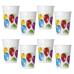 Balloon Fiesta Parti Pohár - 200 ml, 10 db-os