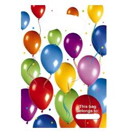 Balloon Fiesta Parti Ajándékzacskó - 6 db-os