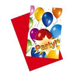 Lufis Szülinapi Meghívó - Balloon Fiesta
