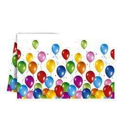 Balloon Fiesta Parti Asztalterítő - 120 cm x 180 cm