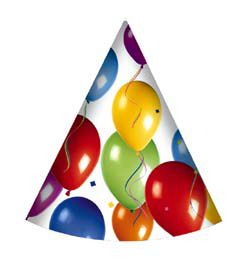 Balloon Fiesta Parti Kalap - 6 db-os