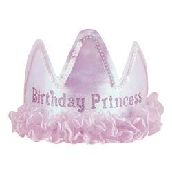 Birthday Princess Feliratú Rózsaszín Szülinapi Tiara