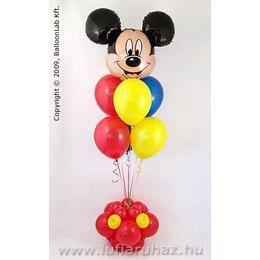 Mickey Mouse Szülinapi Lufi Dekoráció