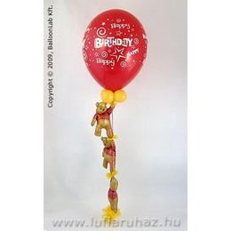 Birthday Stars & Swirls with Winnie The Poohs Szülinapi Dekoráció