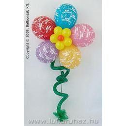 Boldog Születésnapot Virág Szülinapi Lufidekoráció