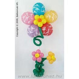 Boldog Születésnapot Virágokkal Szülinapi Lufidekoráció