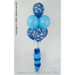 Blue & Pale Blue on Donuts Szülinapi Ajándék és Dekoráció