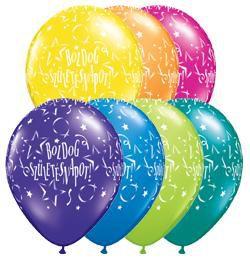 Boldog Születésnapot Csillagos Lufi - Fantasy, 28 cm, 25 db