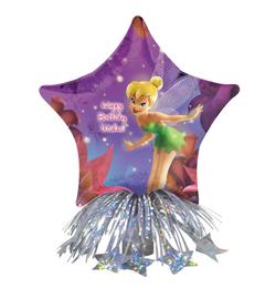 14 inch-es Csingiling - Tinkerbell Birthday - Lufis Szülinapi Asztaldísz